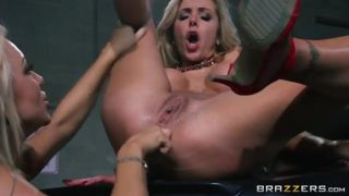 Take This Slut For A Spin With Cameron Dee & Nina Elle