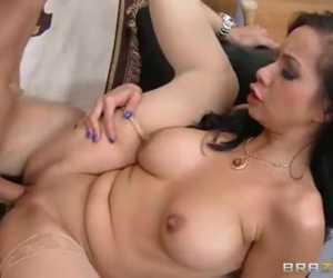 Fucking And Sucking Her Son's Roommate Clear With Kimmy Lee & Jessy Jones