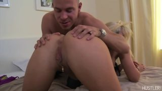 Grinding Her Moist Pussy On His Dick With Vanessa Gold
