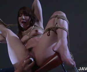 Japanese Rope Bondage Alongside Excellent Rina Uchimura
