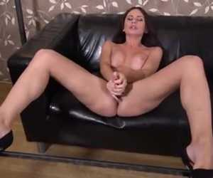 European Hottie Toy Fucks Her Moist Pussy To Pleasure