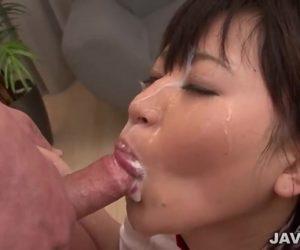 Schoolgirl Ryo Asaka Has Enjoyable With An Asian Blow Job For A Gaggle