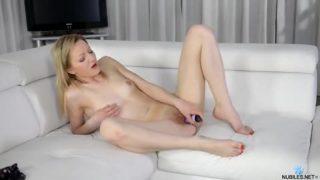 Tiny Tit Beginner Fucks Her Craving Twat