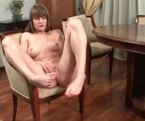 Cute Beginner Has Physique Shaking Orgasm
