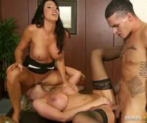 Household Titty Counseling With Leigh Darby, Lezley Zen, Clover