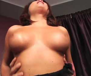 Busty Chick Taking Throbbing Laborious Cock With Bellina