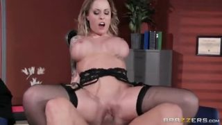 Trainer Is Aware Of Breast With Alexia Vosse & Xander Corvus