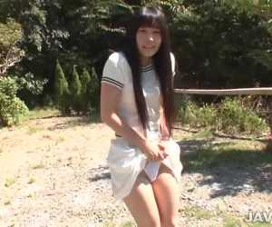 Yui Kasugano Japanese Avenue Attractive Posing
