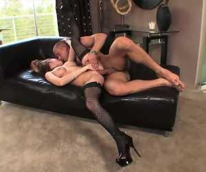 Older Man Banging Large Tit Babe With Madison Scott